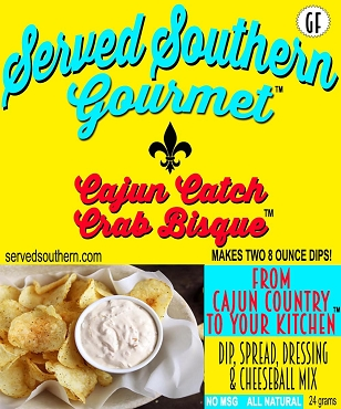 Served Southern Gourmet,